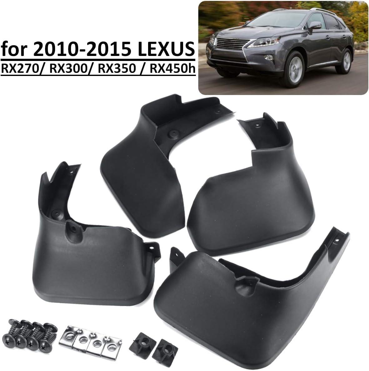 Auto Schmutzf/änger f/ür Lexus RX RX270 RX300 RX350 RX450H 2010-2015 Spritzschutz Schmutzf/änger Kotfl/ügel Zubeh/ör
