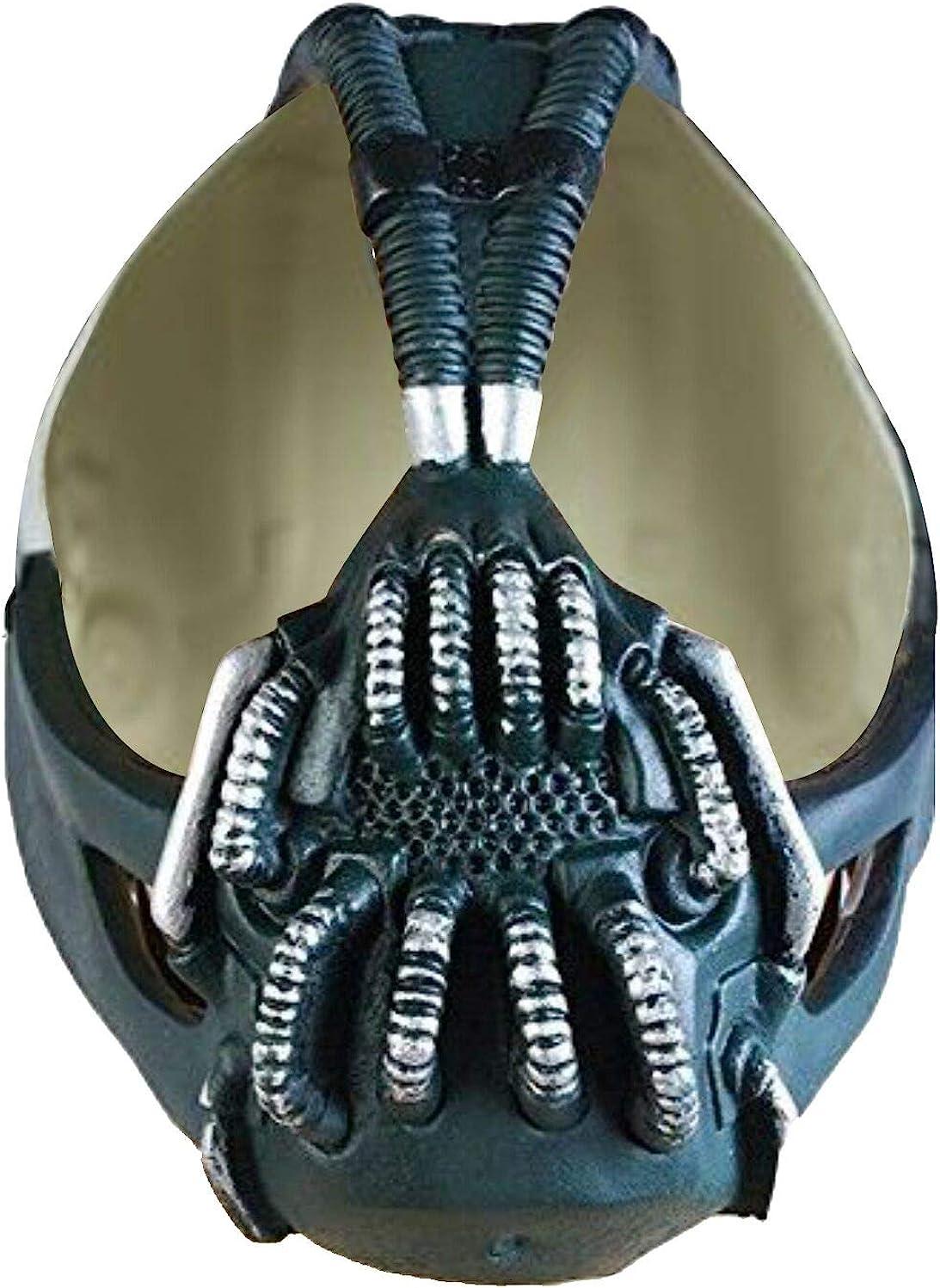 Amazon.com: Batman The Dark Knight Rise Bane Mask Replica Helmet: Clothing