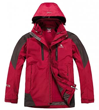 Camel Men's Outdoor Sports Waterproof Jacket Size XX-Large Colour ...