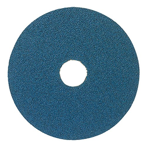 Mercer Industries 307050 50 Grit Zirconia Resin Fiber Discs (25 Pack), 4-1/2 x 7/8