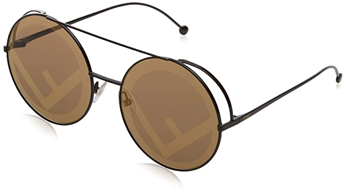 63ff88359d75 Amazon.com  Fendi Women s Round Holographic Sunglasses