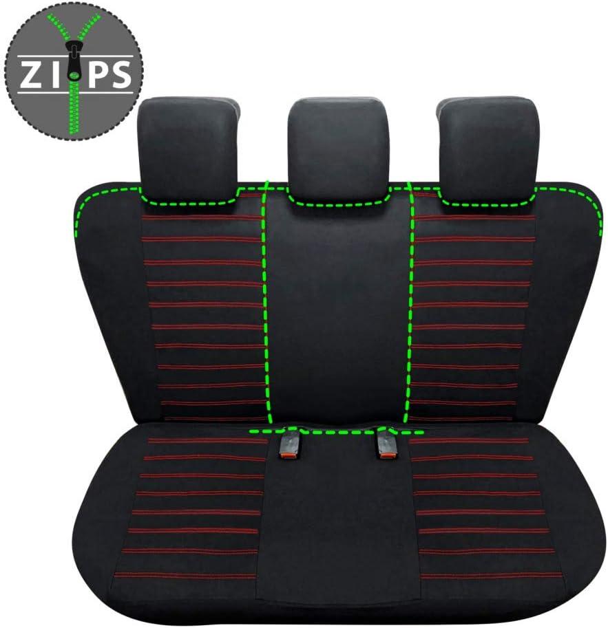 compatibili con sedili con airbag bracciolo Laterale sedili Posteriori sdoppiabili R35S0843 2015 - in Poi rmg-distribuzione Coprisedili per Vitara Versione