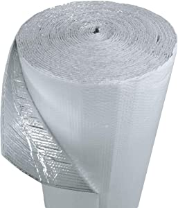 """Us Energy Products 48"""" x 125' Double Bubble Reflective Foil Insulation Thermal Barrier R8"""