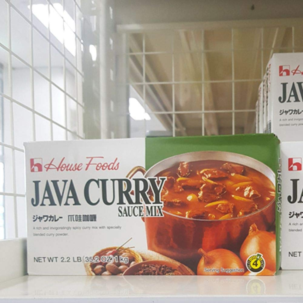 House Foods Java Curry Sauce Mix 1kg