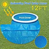 Round Pool Solar Cover Protector 12ft Pool Cover