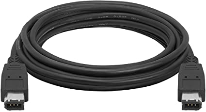 6 Pin to 6 Pin Firewire 400//1394 iLink Heavy Duty Cable MyCableMart 25ft