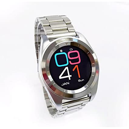 ZfgG Reloj Inteligente Inteligente Bluetooth 4.0 Watch-Waterproof IP68 Fitness Tracker Reloj con frecuencia cardíaca