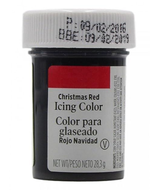 Wilton Colorante en gel Rojo Navidad: Amazon.es: Alimentación y bebidas