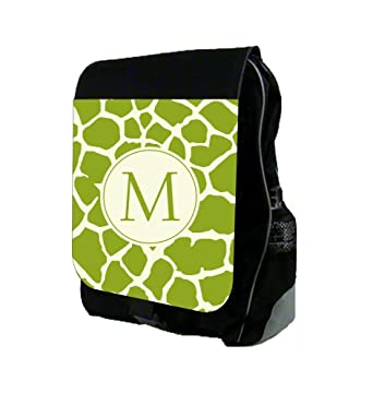 8c1fce4f58fc Green Giraffe Print - Max Wilder TM Customizable School Backpack - Customize  Your Own Now!