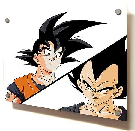Dragon Ball Z Zoku Vs Vegeta Render Animated Comic Size 60 X 40