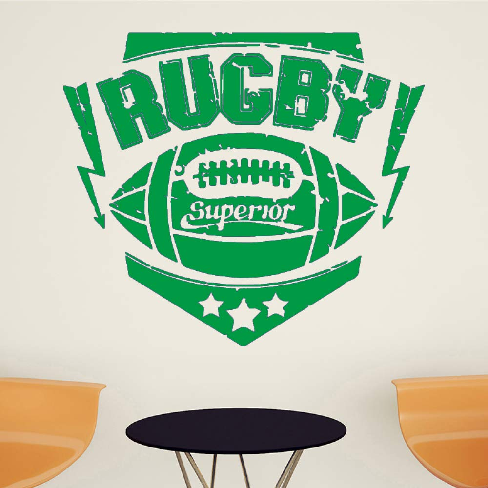 yaoxingfu Rugby Sport Adhesivos de Pared para niños Sala de ...