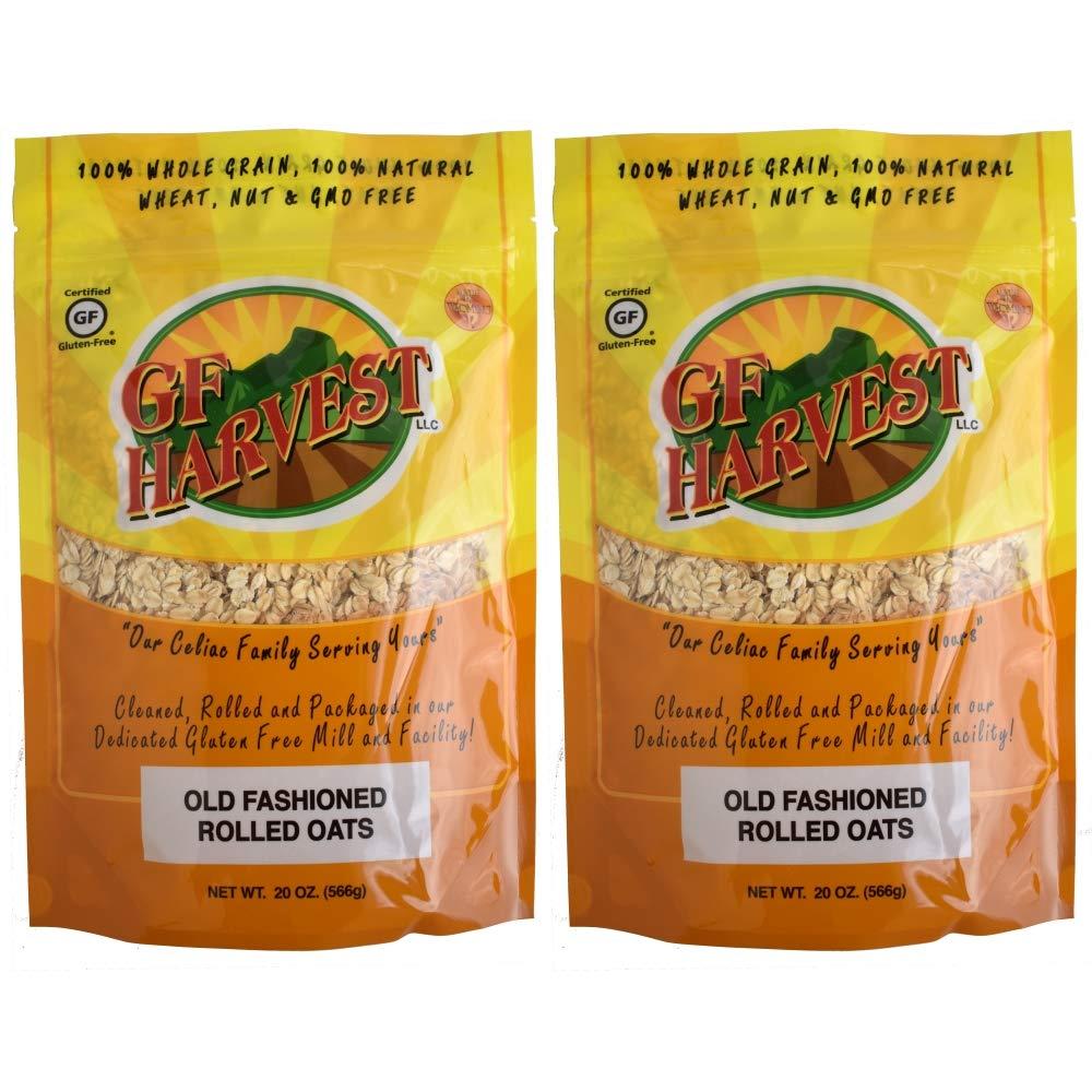 GF Harvest - Avena laminada sin gluten: Amazon.com: Grocery ...