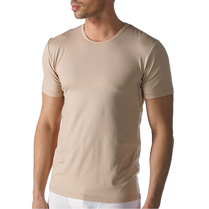 Mey - Camiseta Interior - para Hombre Color Carne Small