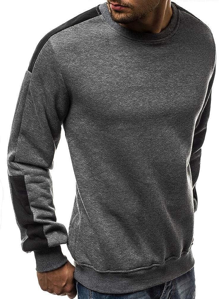 AURNEW Mens Casual Long Sleeve Baseball Tshirt Raglan Jersey Shirt
