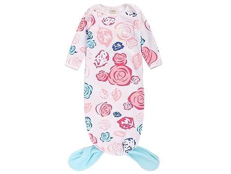UHUA Saco de dormir de bebé creativo Sirena de estilo Anti-kick Sleepsacks adecuado para