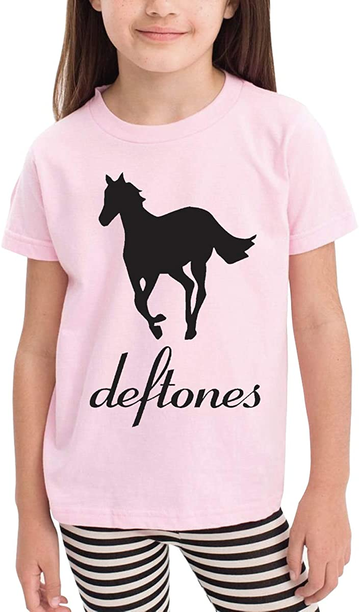 Onlybabycare Deftones 100/% Cotton Toddler Baby Boys Girls Kids Short Sleeve T Shirt Top Tee Clothes 2-6 T