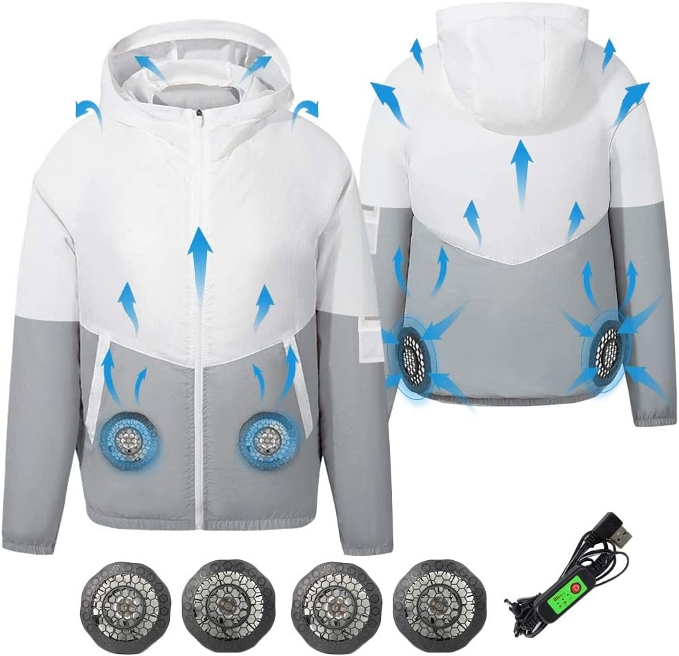 ARRIS Fan Fitted Clothes UV Resistant Cooling Jacket