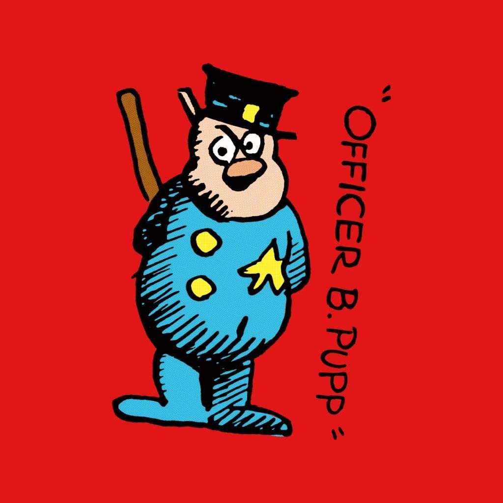 Krazy Kat Officer B Pupp Character Mens Sweatshirt