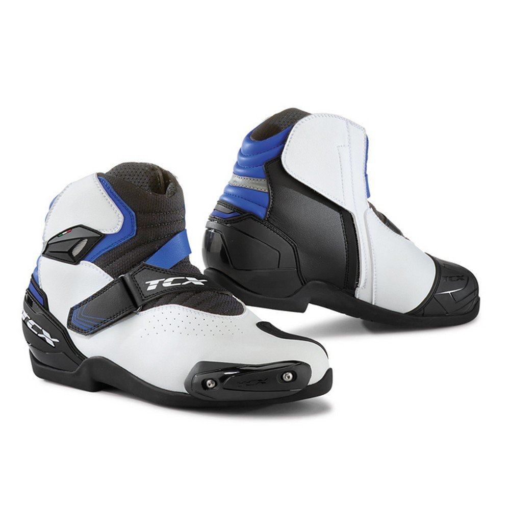 TCX Boots Mens Roadster 2 Air Boots White//Black//Blue Size 44//Size 10 7131-BNBL-44