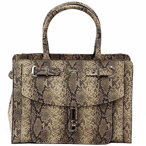 Guess Womens Kingsley Satchel Handbag