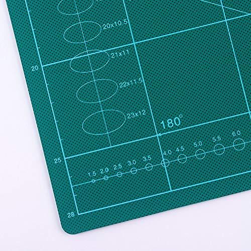 no brand A3 Pad Pad Pad Pad Manuel D/écoupe Recto//Verso Papier Gravure Plaque Maroquinerie Outils de D/écoration La Vente des Outils /électriques