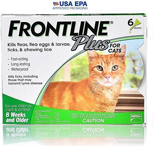Merial primera línea Plus Flea and Tick control para gatos y gatitos (6 dosis). Evita, control, Mata: Amazon.es: Productos para mascotas