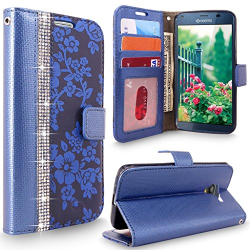Kyocera Cellularvilla Diamond Embossed Leather