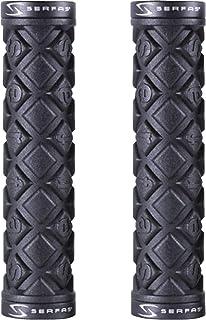 """SERFAS CONNECTORS Bicycle GRIPS SET 2 Black Standard 5/"""" Pair"""