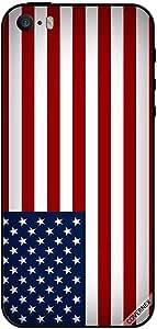 حافظة لهاتف آيفون 5 - علم الولايات المتحدة الأمريكية متدرج