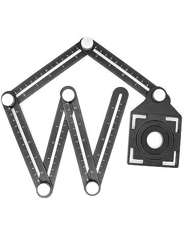 En alliage d/'aluminium Règle de quatre-Verso multi-angle outil de mesure Angle-R Modèle