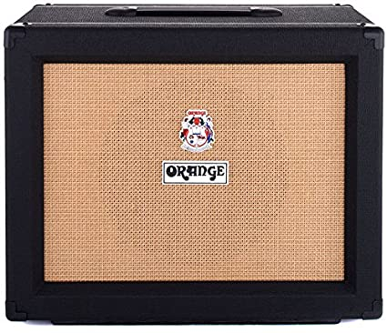 Amazoncom Orange 1x12 Cabinet Celestion V30 16 Ohm Black Musical