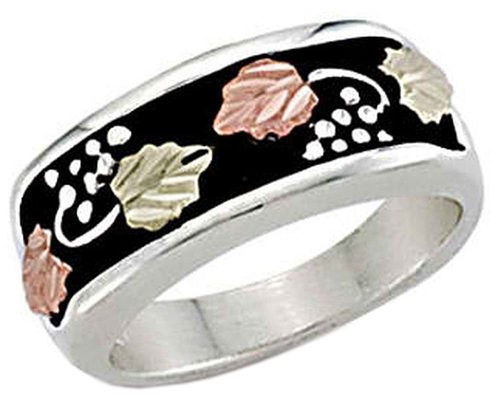 Landstroms ladies Black Hills Silver Band with European Shank - LR1043SS