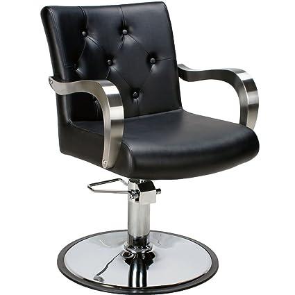 Silla profesional de barbero Hidráulico silla de peluquería ...