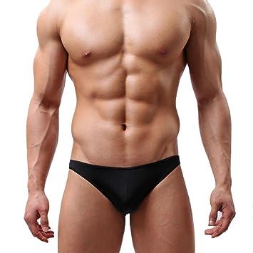 Bóxer Para Hombre,YUYOUG Transparente ultra-delgada transpirable gran ropa interior sexy para hombres