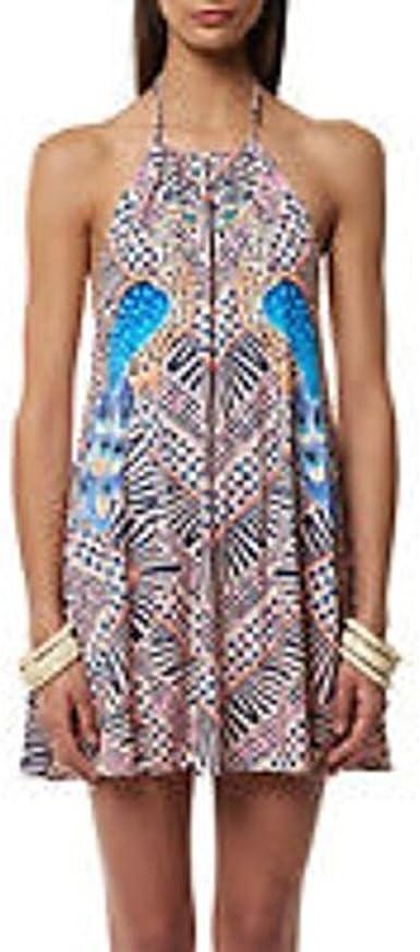 Mara Hoffman Womens Fractals Draped Dress Cover Up