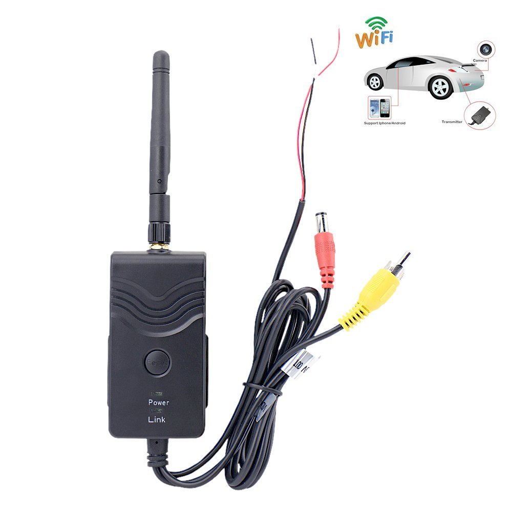 Sourcingbay 2.4Ghz 30fps WiFi Car Camera