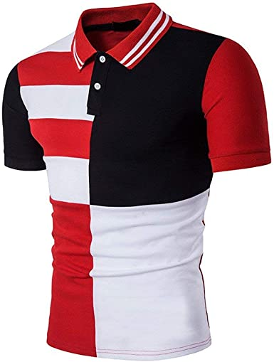 Camisa De Manga Corta Camisa De Unico Jersey Camisa De Polo ...