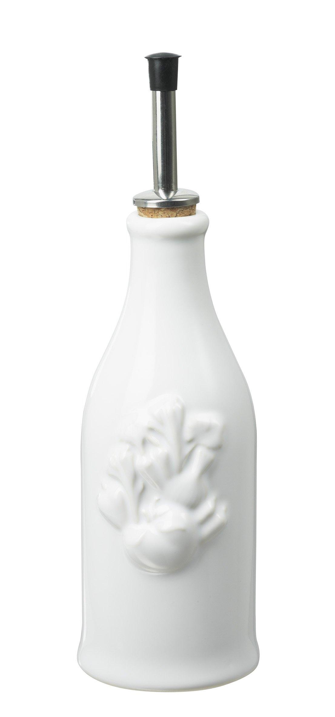 Revol 615760 Happy Cuisine Provence Vinegar Bottle, White
