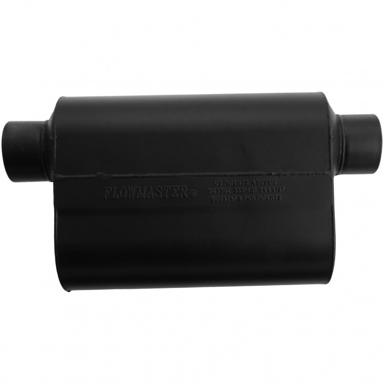 Flowmaster 953049 Super 40 Muffler Aggressive Sound 3.00 Same Side OUT 3.00 Offset IN