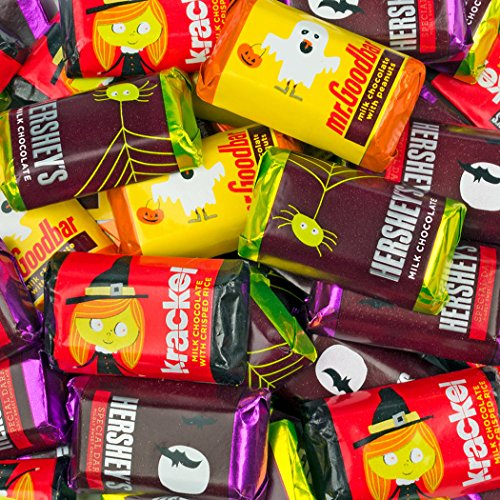 Halloween Candy Hershey's Miniatures Chocolate (2.25lb) -