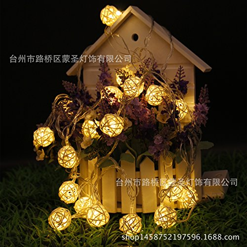 FDH LED Solar Powered / String Lights Decorative Lighting...