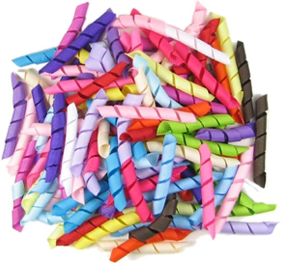 """5"""" Hot Pink\Grape Dot Korker Hair Bows Handmade"""