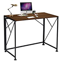 Deals on ComHoma Writing Computer Desk Office Folding Table