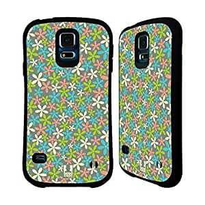 Head Case Designs Pastel Ditsy Floral Patterns Hybrid Case for Samsung Galaxy S5 / S5 Neo