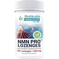 ProHealth NMN Pro (250 mg, 30 lozenges) Nicotinamide Mononucleotide | NAD+ Precursor | Supports Anti-Aging, Longevity and Energy