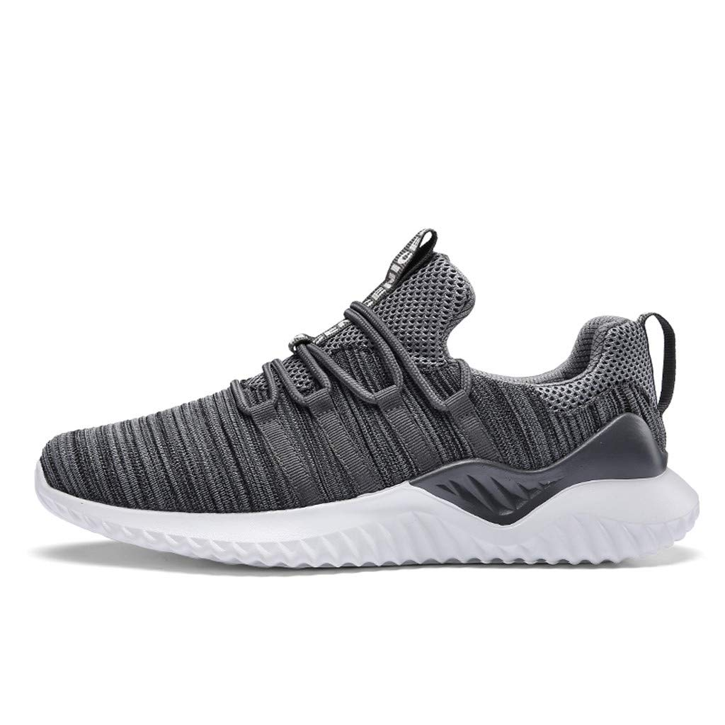Zapatillas para Hombre,JiaMeng Zapatillas de Deporte Transpirables, Transpirables, Bajas y al Aire Libre, livianas Zapatos Casuales Cordones Air Cushion Running Sports Sneakers