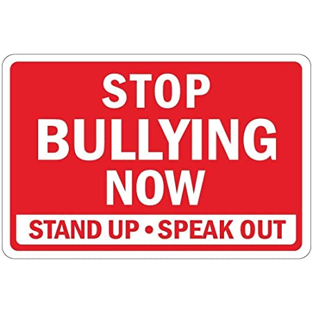 Stop Bullying Now Stand Up Speak out Creatividad del Letrero ...