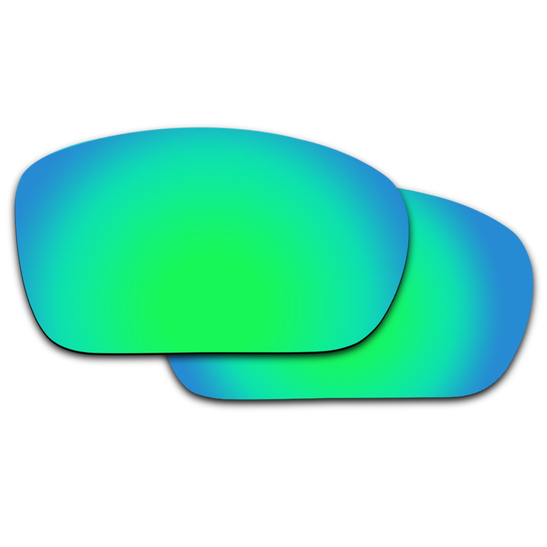 Fiskr Optics Fiskr Anti-saltwater Polarized Replacement Lenses for Oa-kley Turbine Sunglasses 0