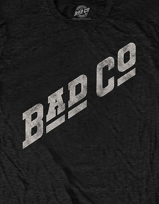 Bad Company Slant Logo Officiel Tee T-shirt pour homme