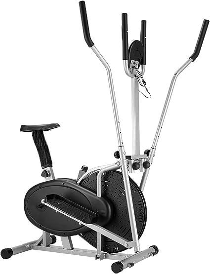 Finether Bicicleta Elíptica Multifuncional con 5 Pantallas de LCD ...